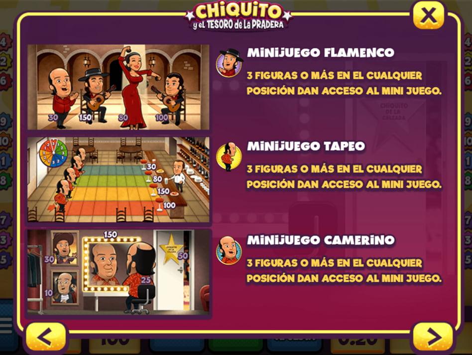 Chiquito y el tesoro de la pradera slot game