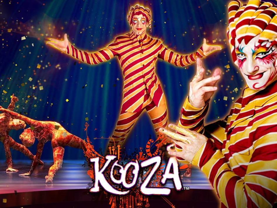Cirque Du Soleil Kooza slot game