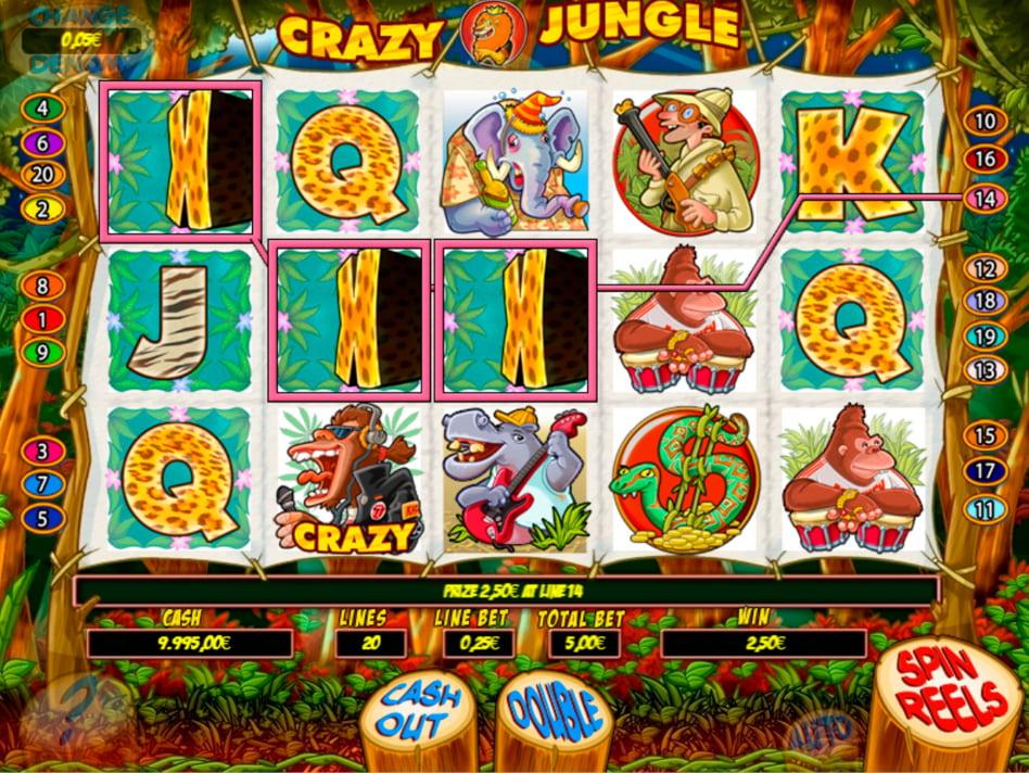 Crazy Jungle slot game