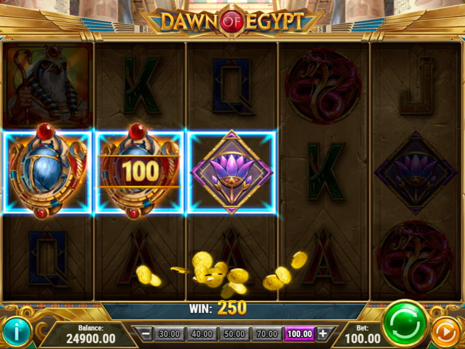 Dawn of Egypt slot game