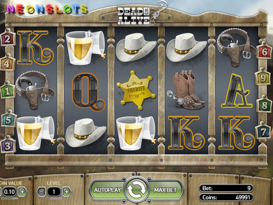 Dead or Alive slot game