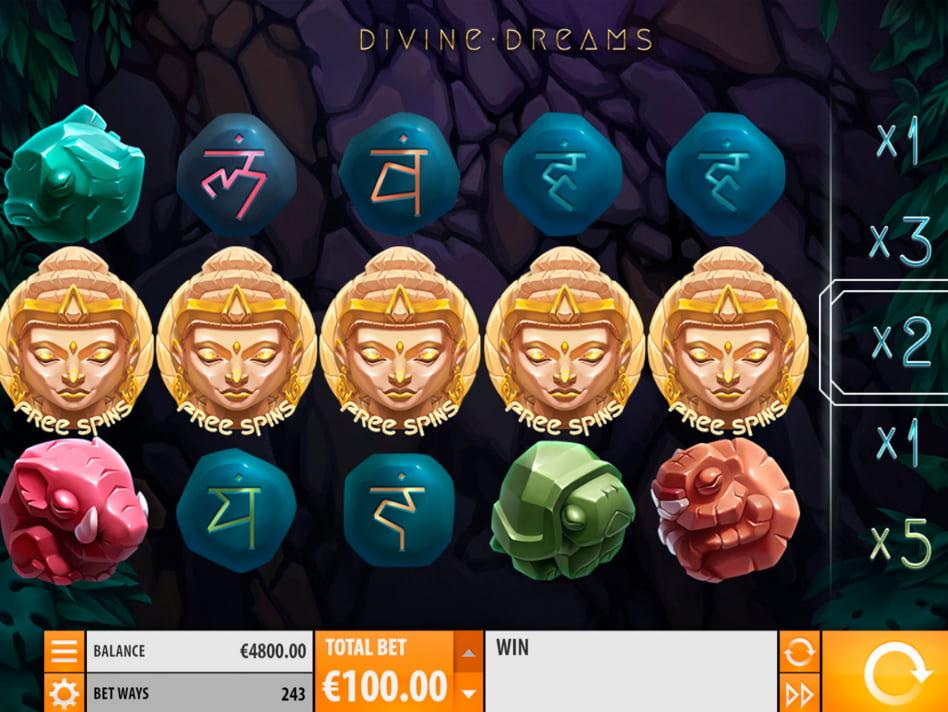 Divine Dreams slot game