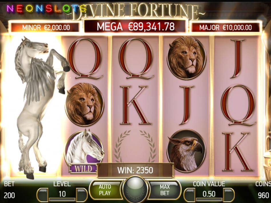 Divine Fortune slot game