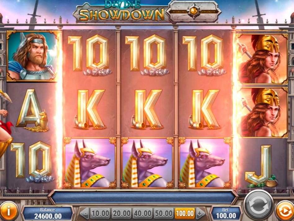 Divine Showdown slot game
