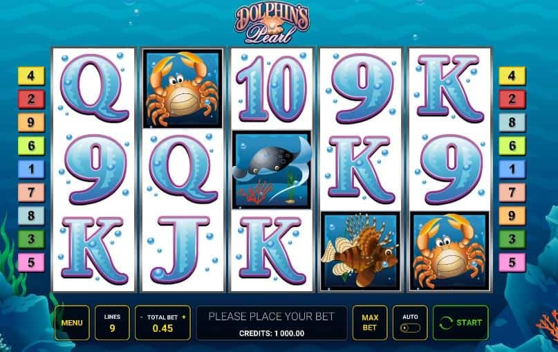 Dolphin's Pearl slot game