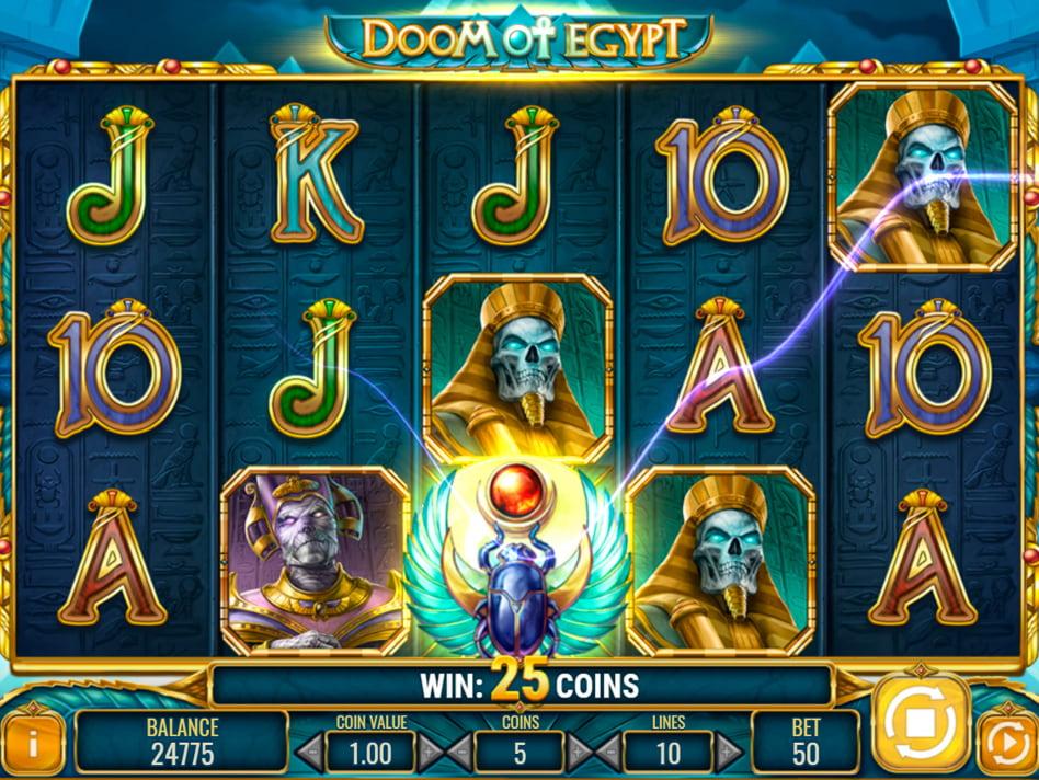 Doom of Egypt slot game