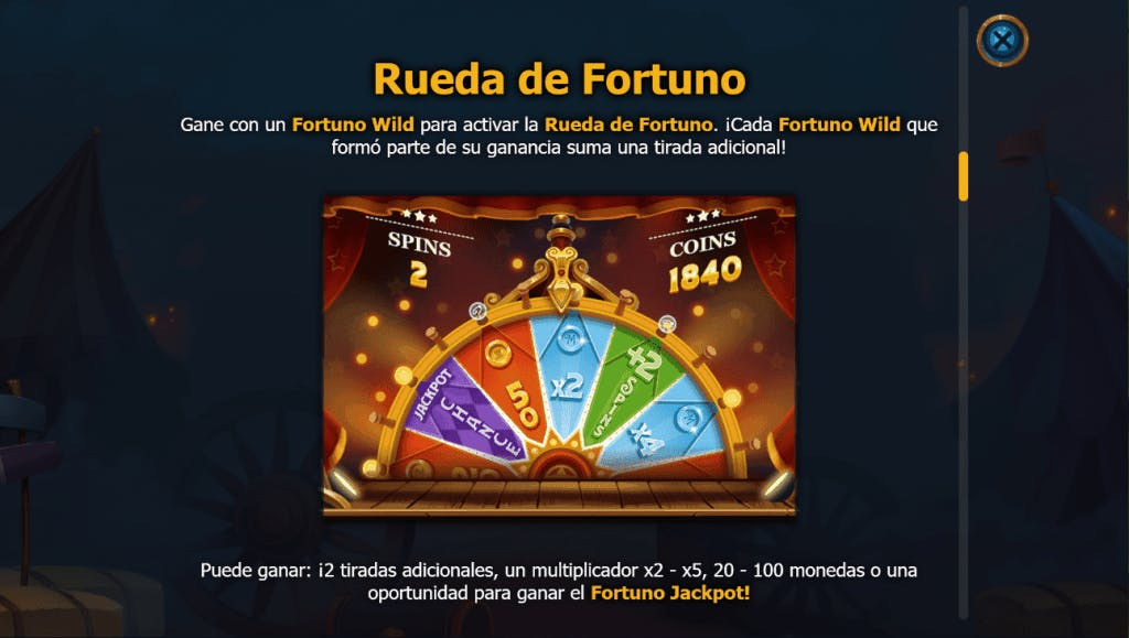 Dr Fortuno slot game