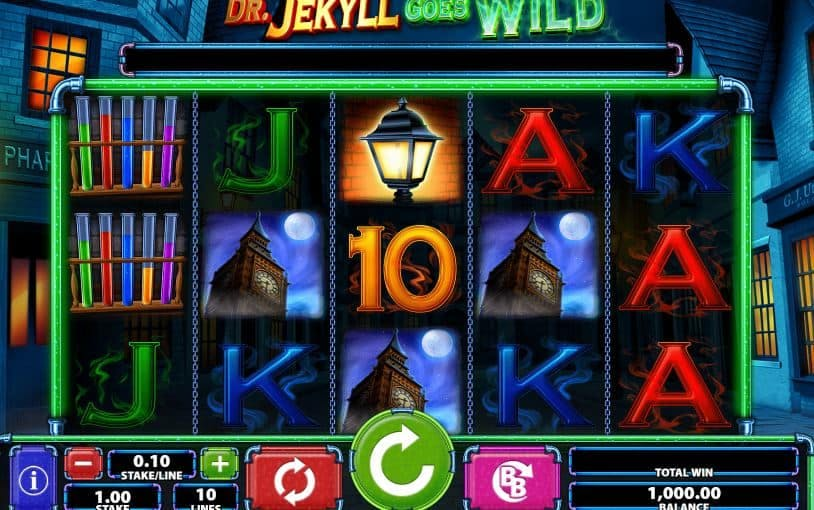 Dr. Jekyll Goes Wild slot game