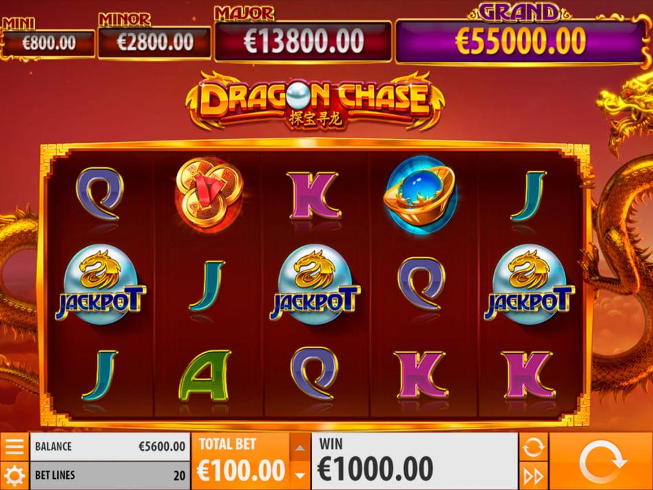 Dragon Chase slot game