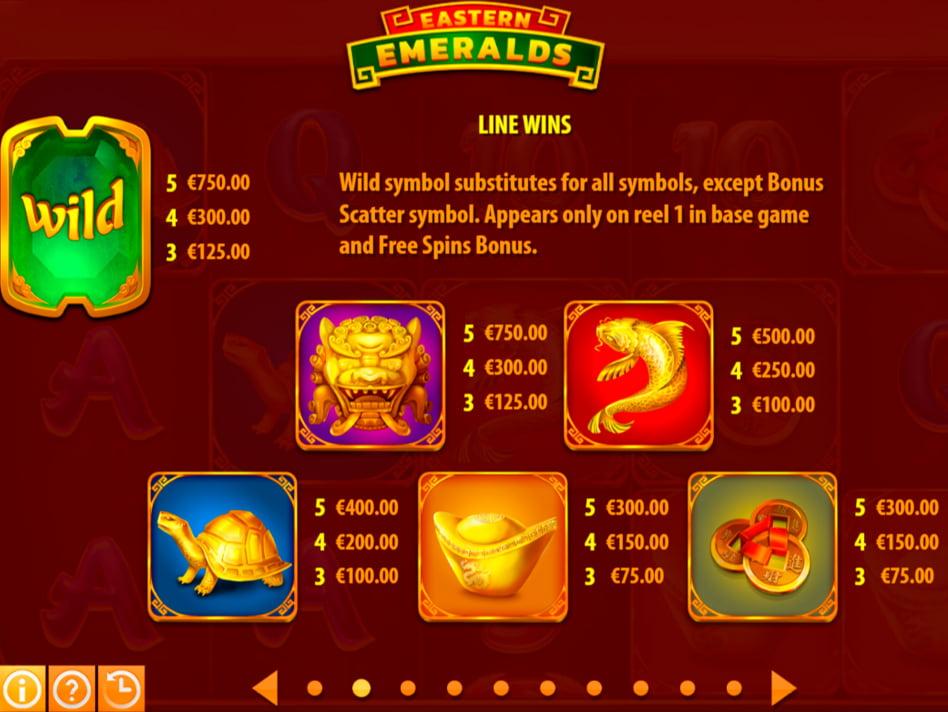 Eastern Emeralds slot game