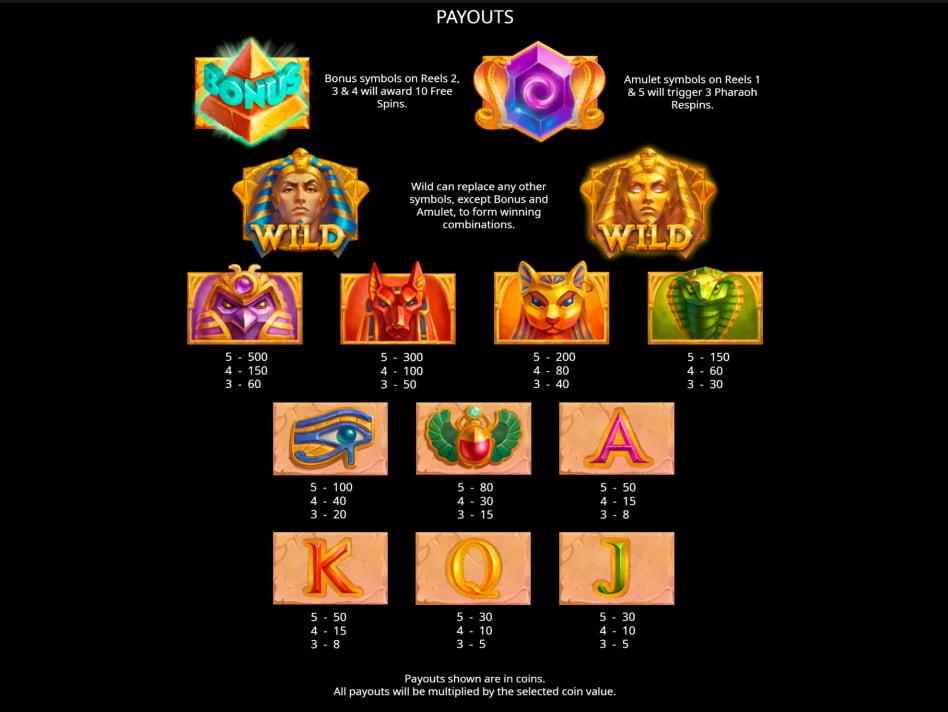Egyptian King slot game