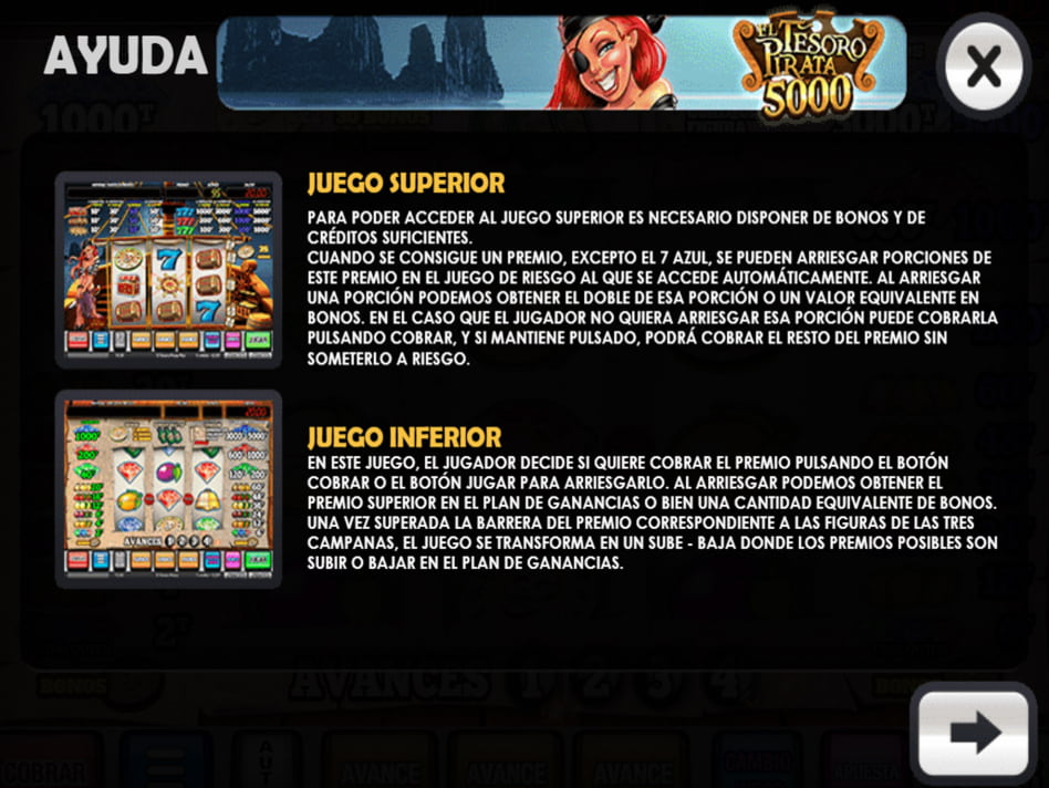 El Tesoro Pirata slot game