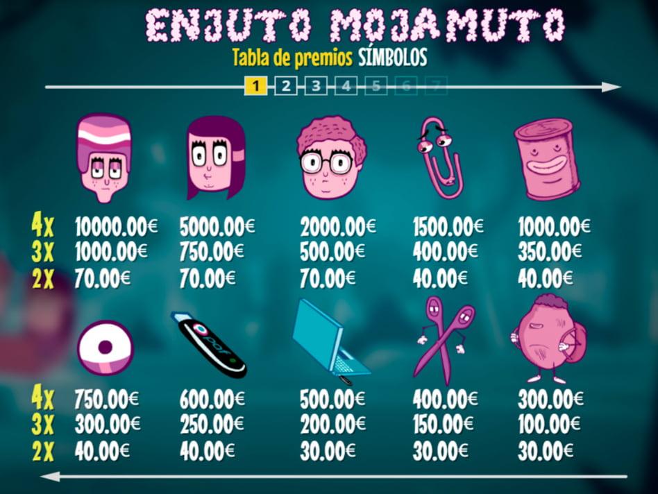 Enjuto Mojamuto slot game