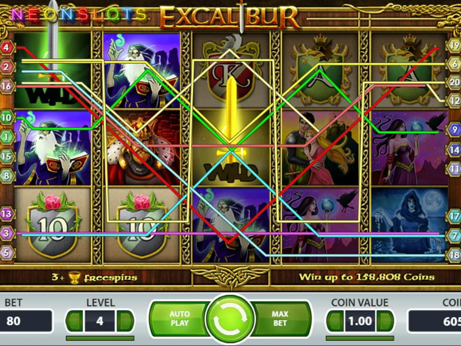 Excalibur's Choice slot game