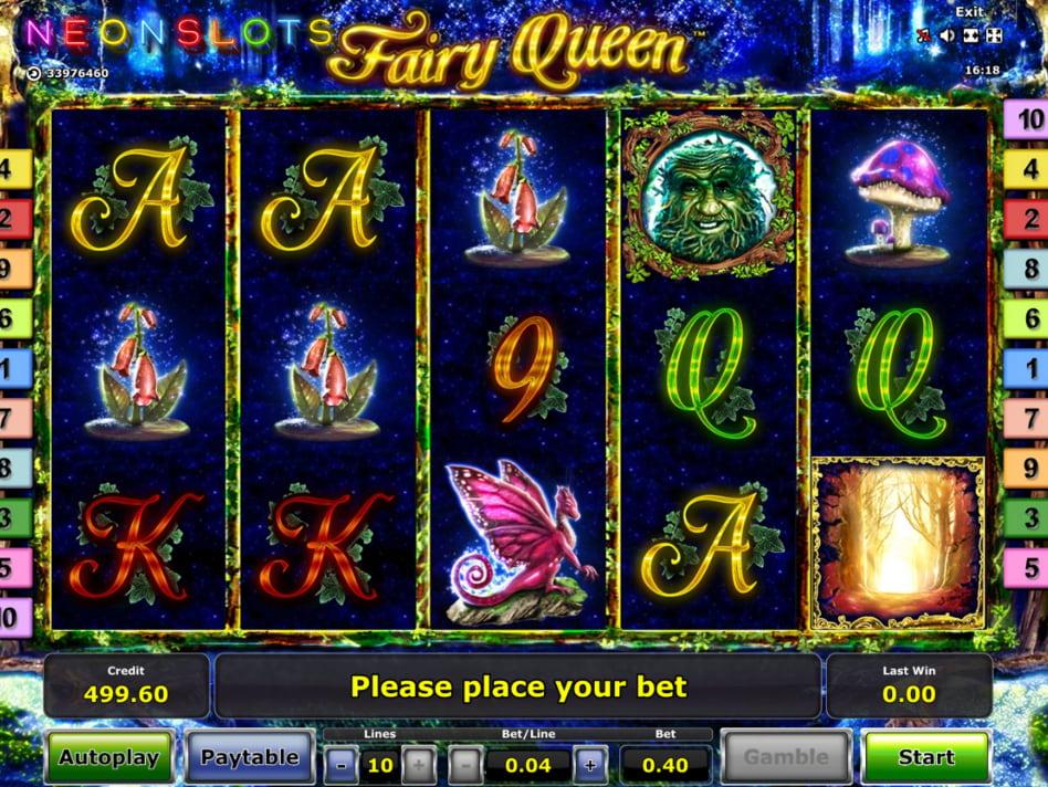 Fairy Queen slot game