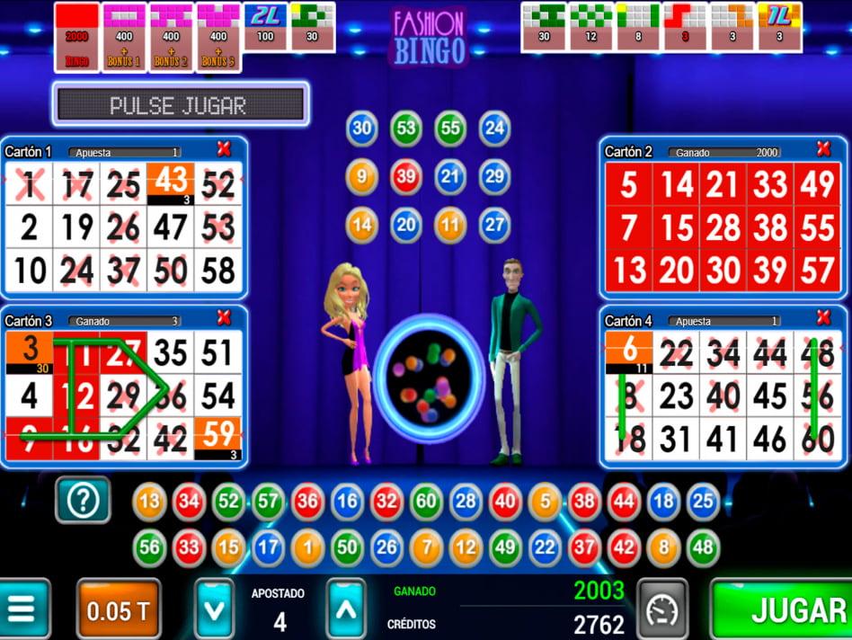 Fashion Bingo slot game