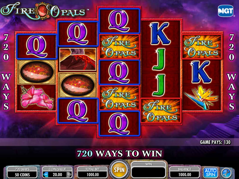 Fire Opals slot game