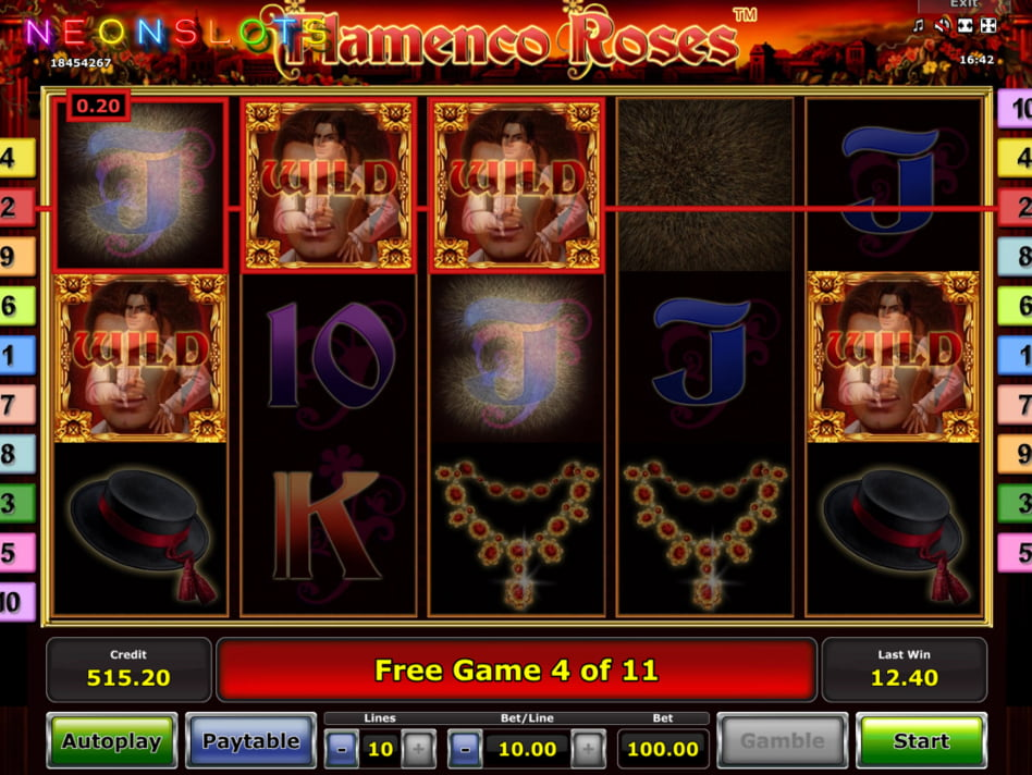Flamenco Roses slot game
