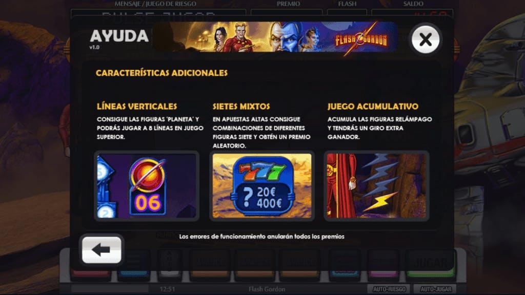 Flash Gordon slot game