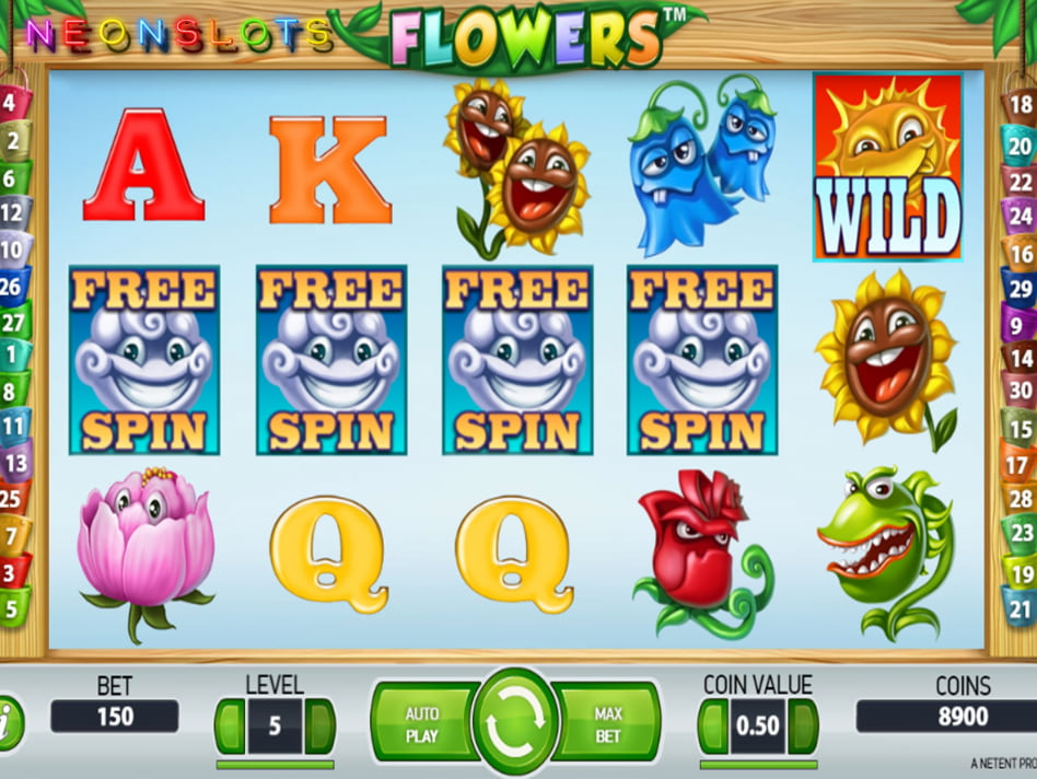 Flowers slot game