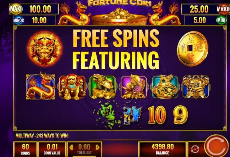 Fortune Coin slot game