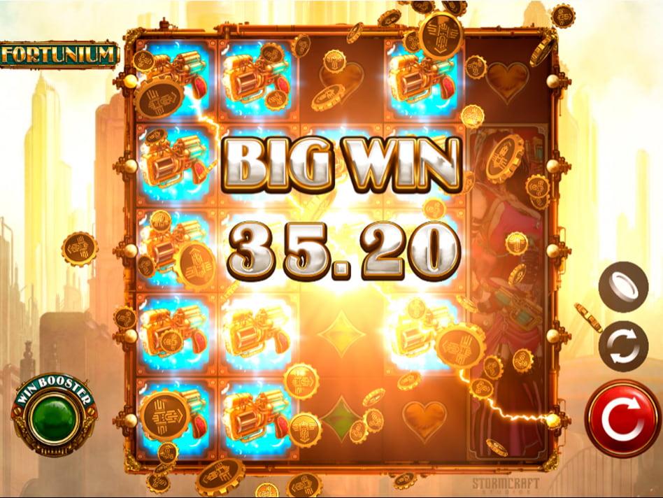 Fortunium slot game