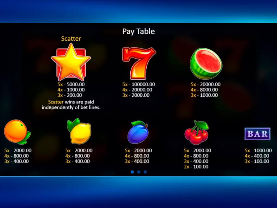 Fruit Xtreme slot game