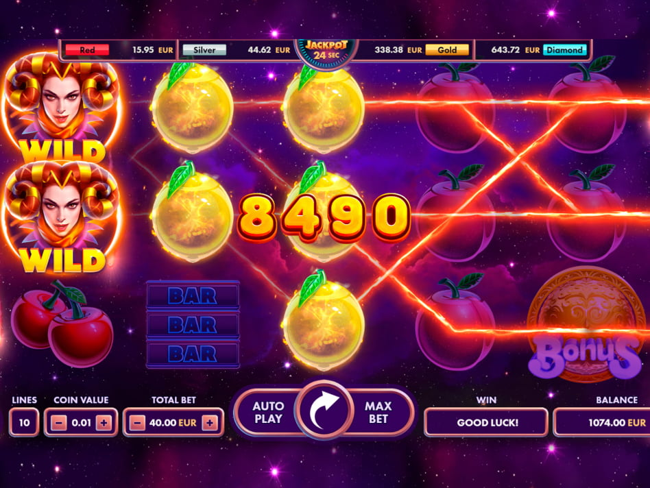 Fruits & 777's slot game