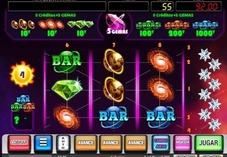 Galactica slot game