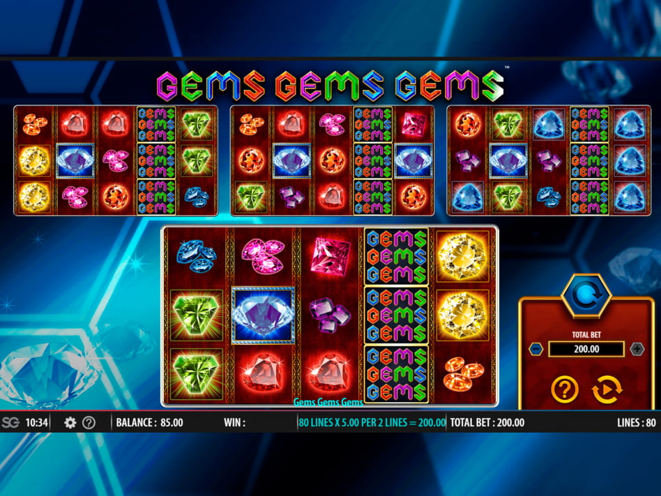 Gems Gems Gems slot game