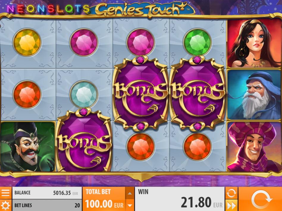 Genie's Palace slot game