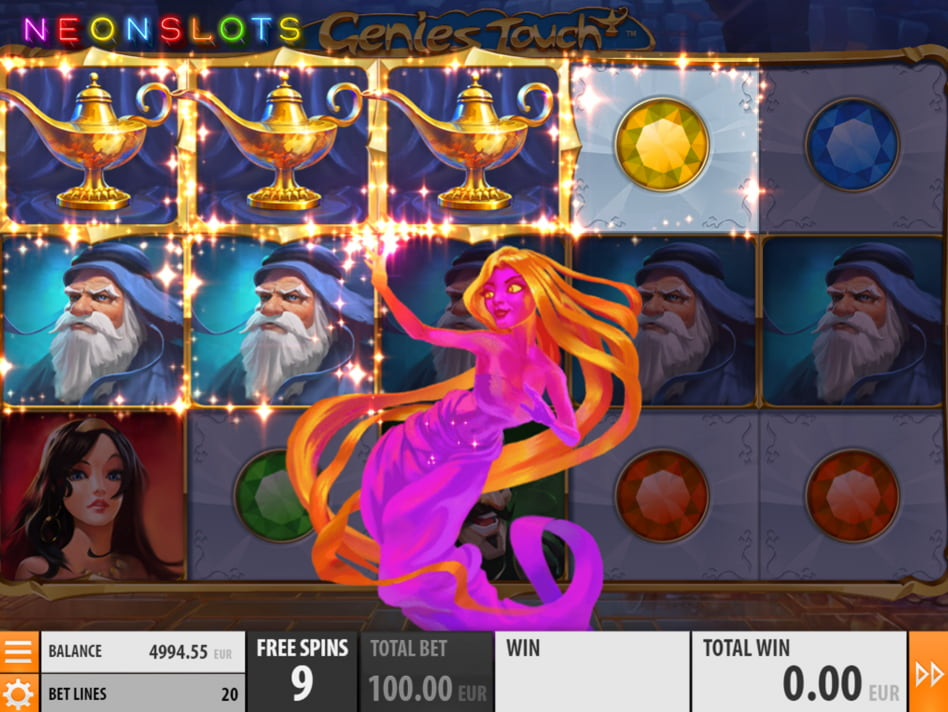 Genies Touch slot game