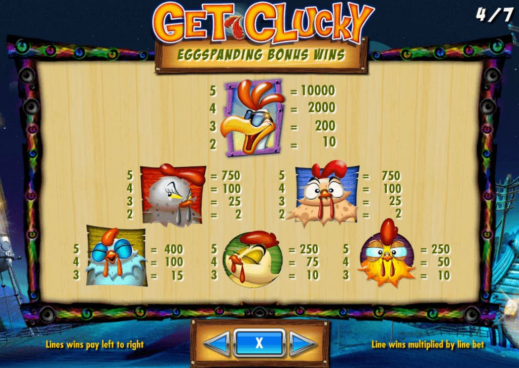Get Clucky slot game