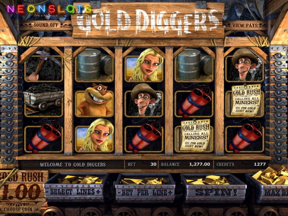 Gold Digger slot game