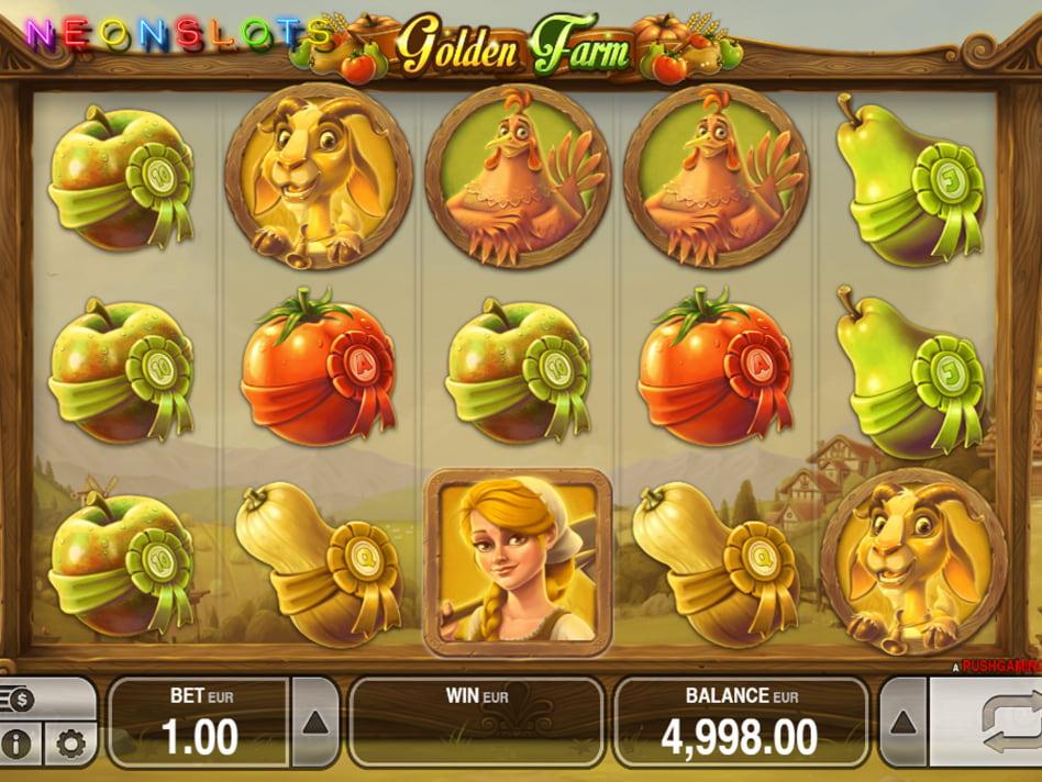 Golden Farm slot game