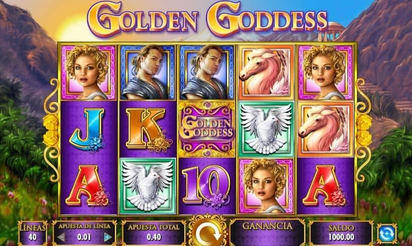 Golden Goddess slot game
