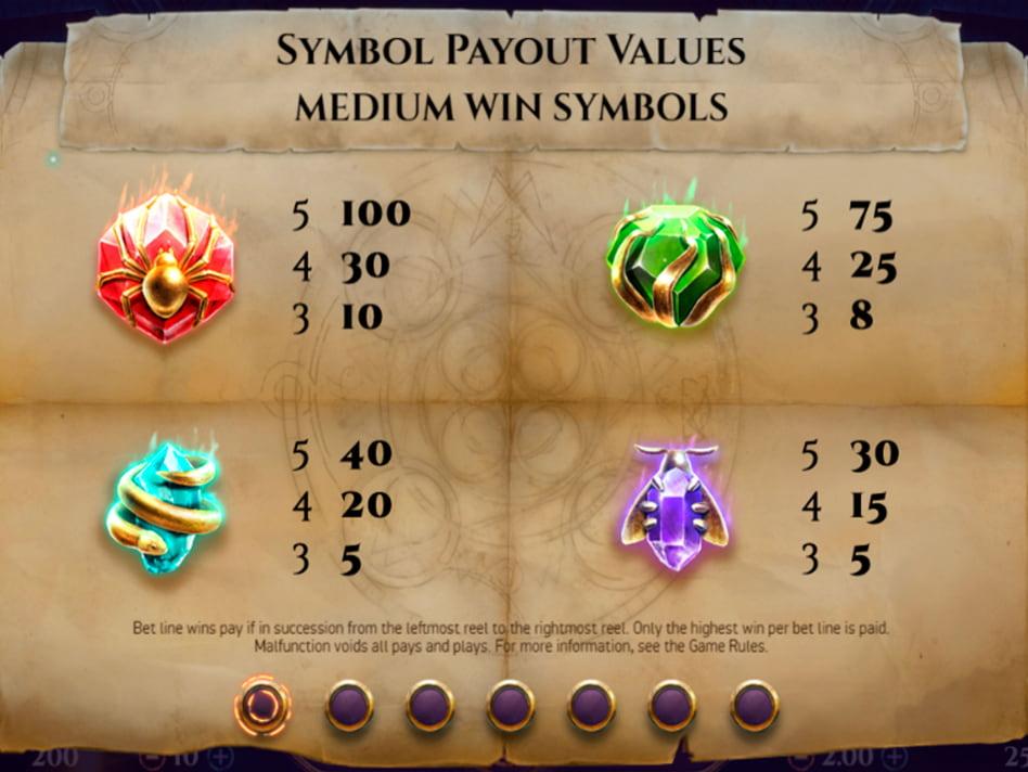 Golden Grimoire slot game