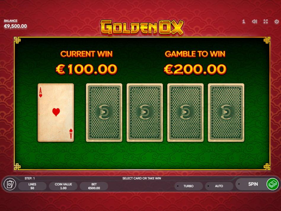 Golden Ox slot game