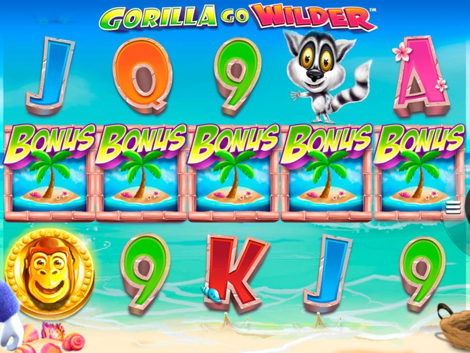 Gorilla Go Wilder slot game