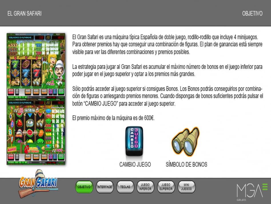 Gran Safari slot game