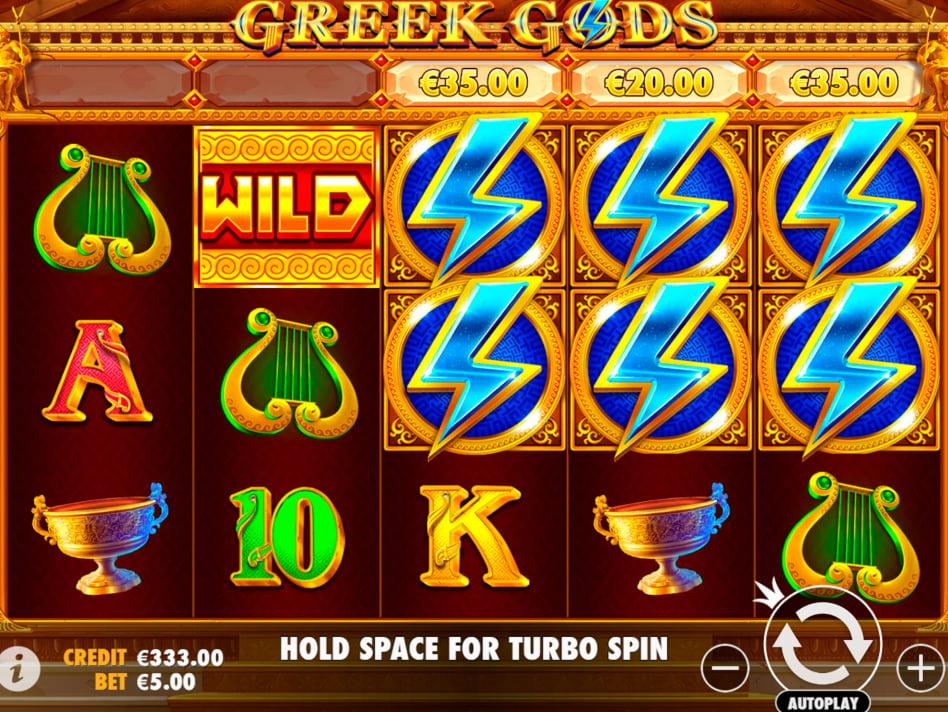 Greek Gods slot game