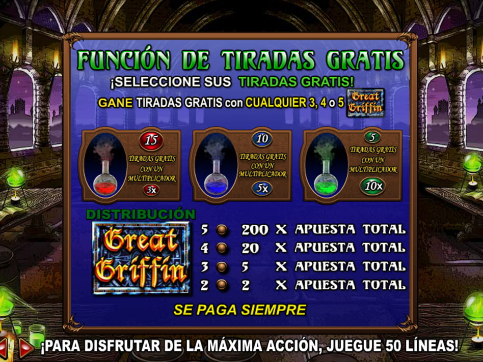 Griffin's Quest slot game