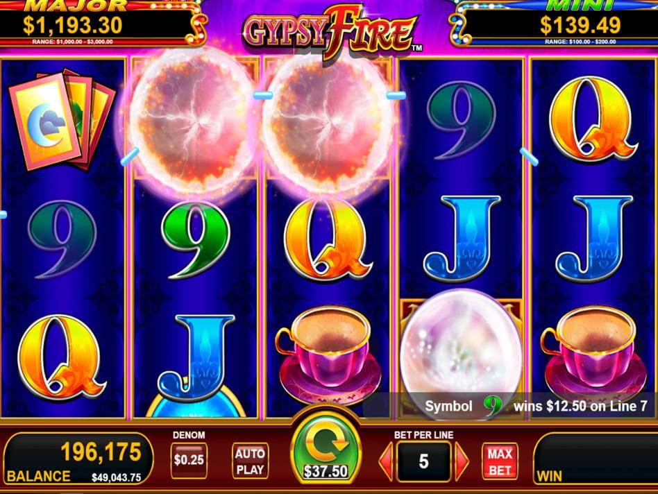 Gypsy slot game
