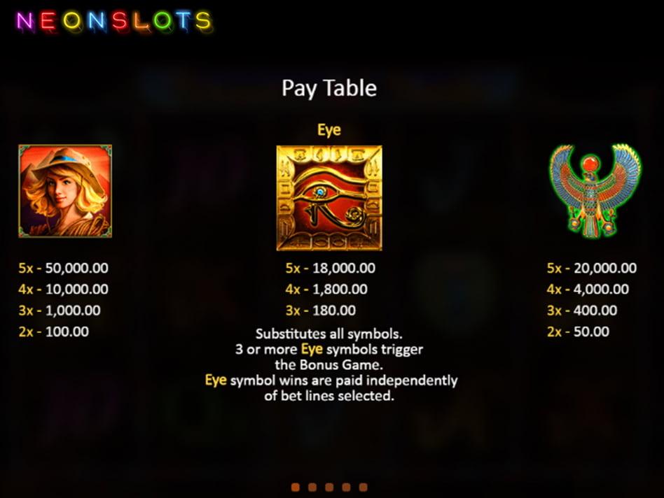 Hidden slot game