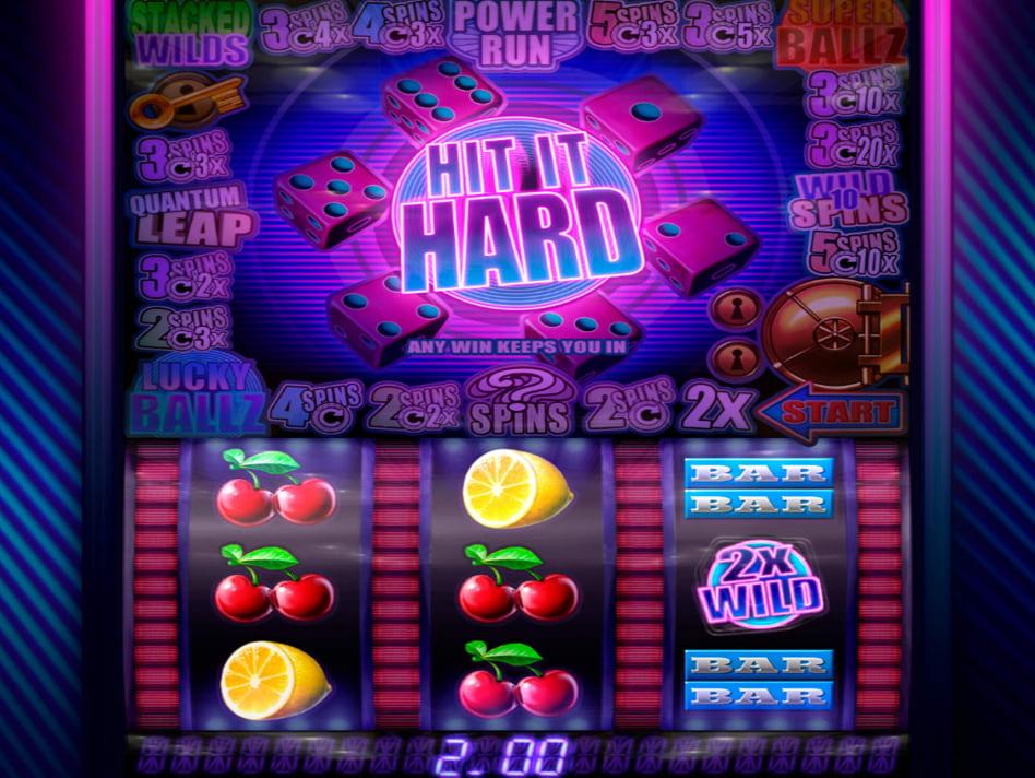 Hit it Hard slot game