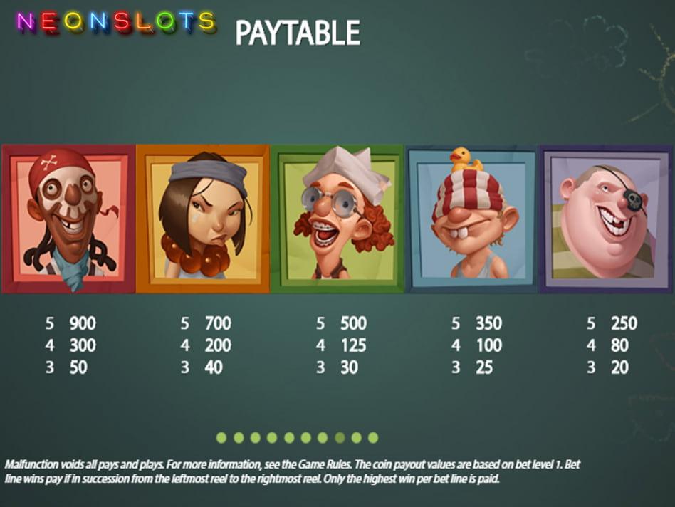 Hook's Heroes slot game