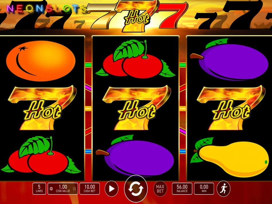 Hot' N' Fruity slot game