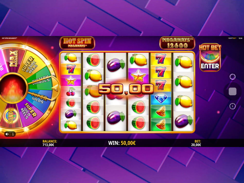 Hot Spin Megaways slot game