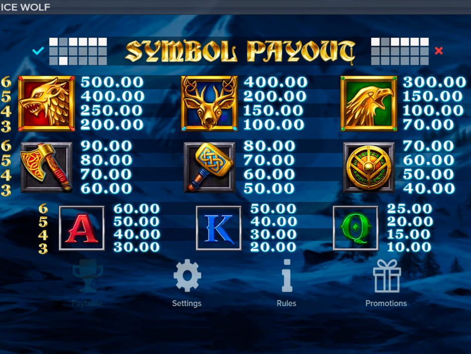 Ice Wolf slot game