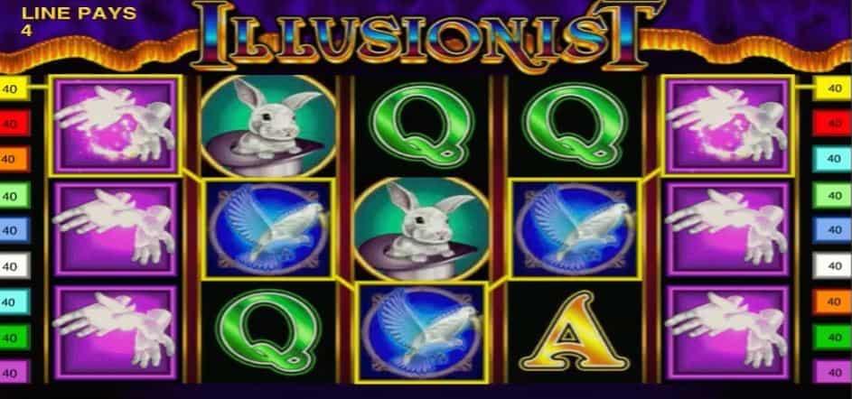Illusionist slot game